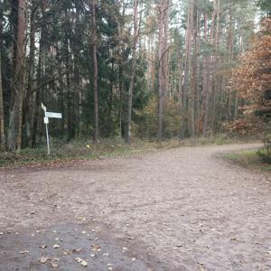 Nähe  Kalchreuth Waldparkplatz