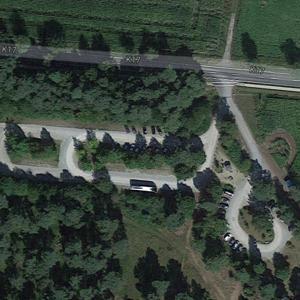 Parkplatz in der Heide