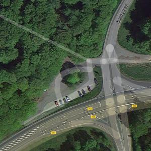 Autobahnabfahrt Melsungen