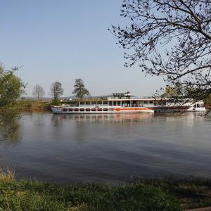 Weserufer unterhalb des Ohrberges